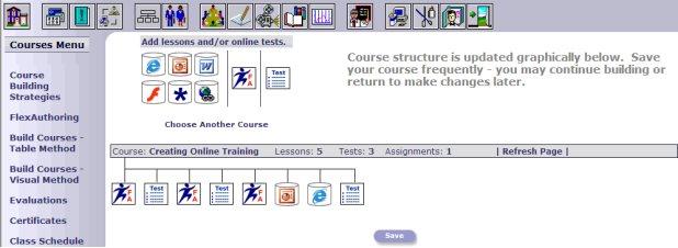 make a class schedule online